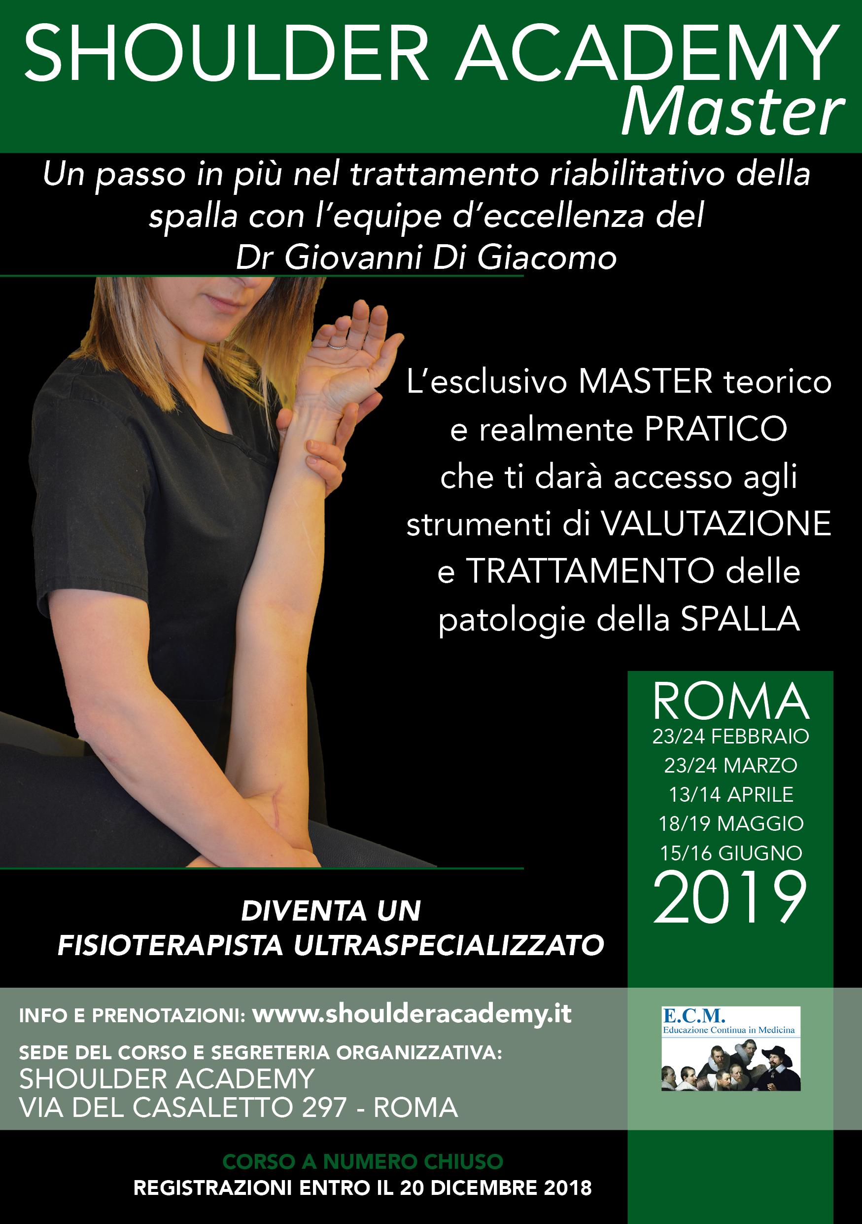 Master alta formazione dr Giovanni Di Giacomo